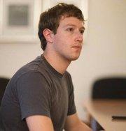 Facebook-Gründer Marc Zuckerberg auf seinem Profilfoto auf Facebook. Quelle: http://www.facebook.com/pages/Marc-Zuckerberg/157927950912898?ref=ts
