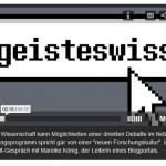 Weblogs in den Wissenschaften (Interview Mareike König auf BR 09.03.12)