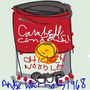 MT @museumpaige: Andy Warhol #ctm12 #drawsomething