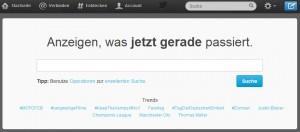 Twittersuche