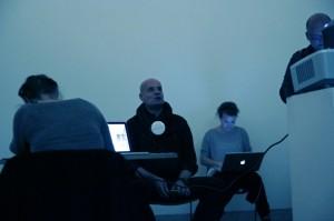 #outofblue: Tweetup in (k)einer Ausstellung / Photo: Vivi D'Angelo