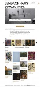 Die Sammlung Online des Lenbachhaus